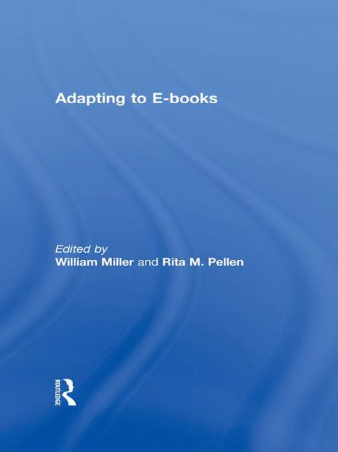 Picture of Adapting to eBooks - Miller