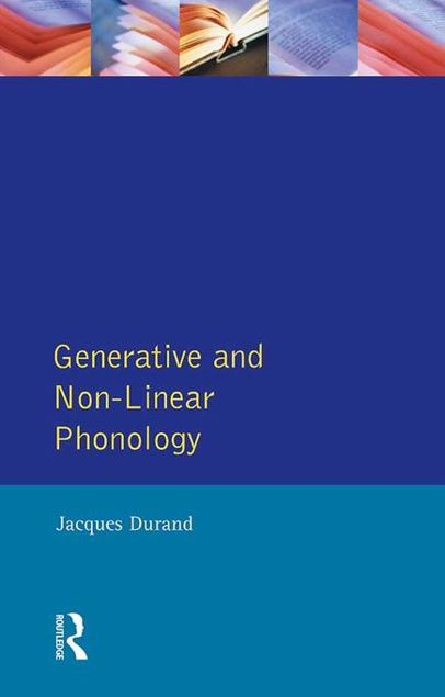 Picture of Generative and Non-Linear Phonology