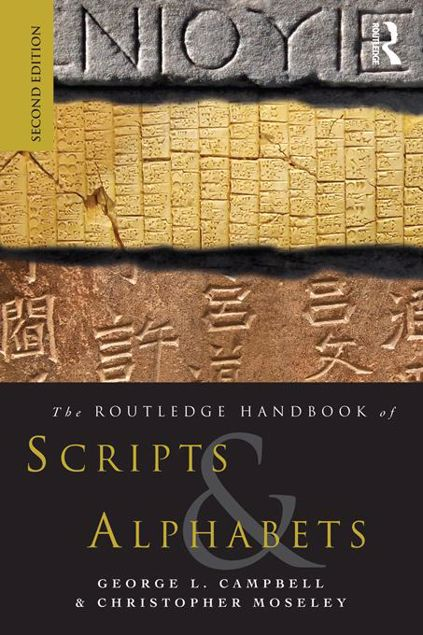 Picture of The Routeldge Handbook of Scripts and Alphabets
