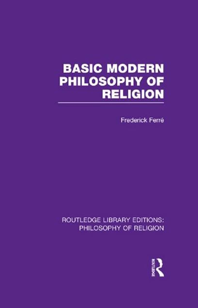 Picture of Basic Modern Philosophy of Religion