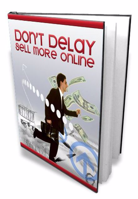 Picture of Don't Delay Sell More Online