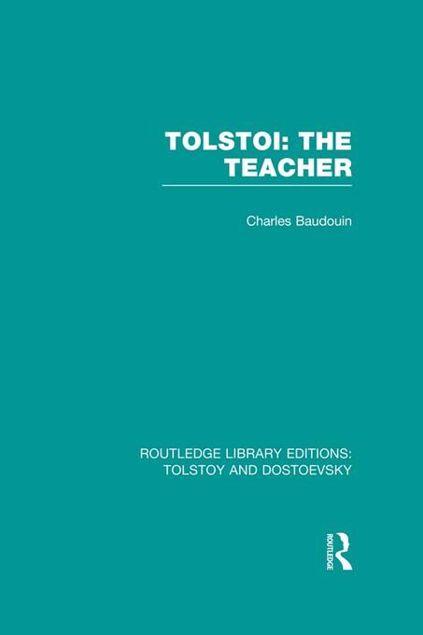 Picture of Tolstoi: The Teacher