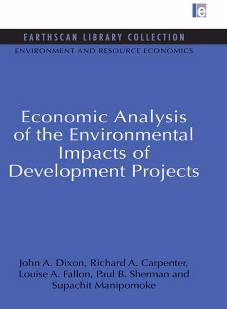 Picture of Economic Analysis of the Environmental Impacts of Development Projects