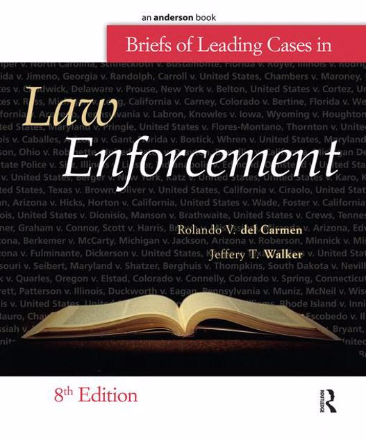 Picture of Briefs of Leading Cases in Law Enforcement