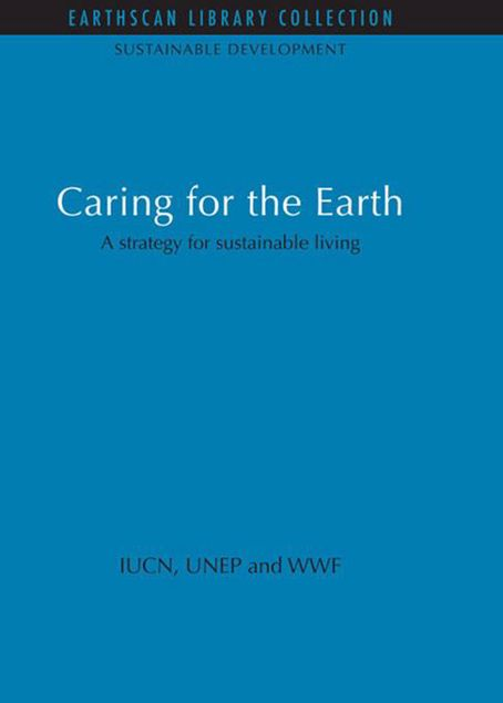Picture of Caring for the Earth: A Strategy for Sustainable Living