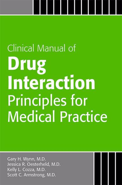Picture of Clinical Manual of Drug Interaction Principles for Medical Practice