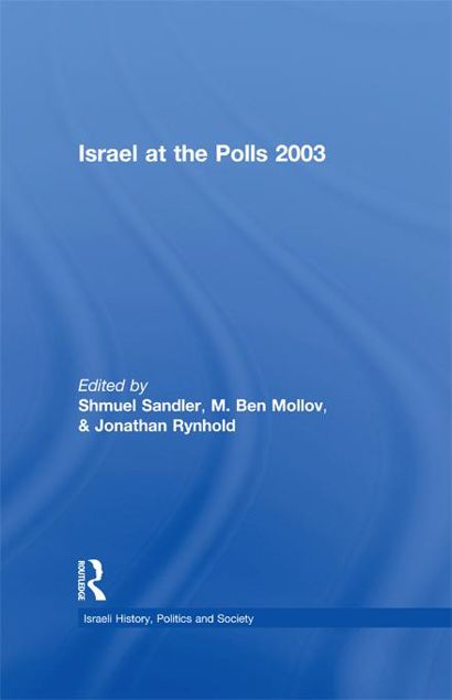 Picture of Israel at the Polls 2003