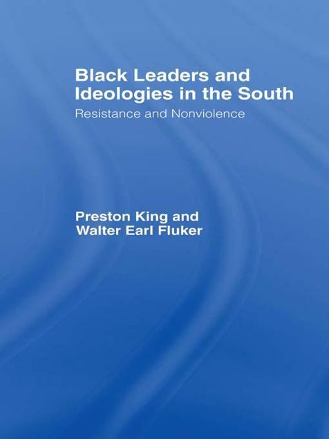Picture of Black Ideologies & the South: Resistance & Non-Vio: Resistance and Non-Violence