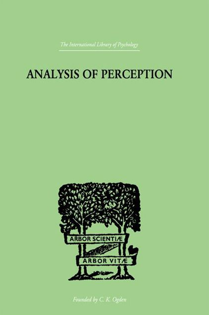 Picture of Analysis of Perception