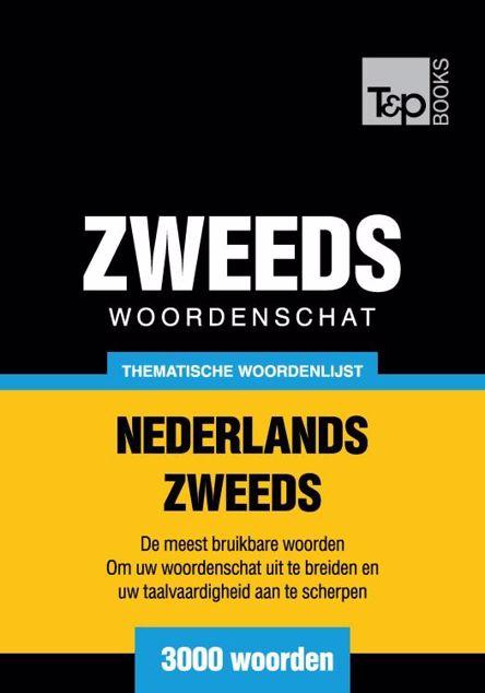 Picture of Thematische woordenschat Nederlands-Zweeds - 3000 woorden