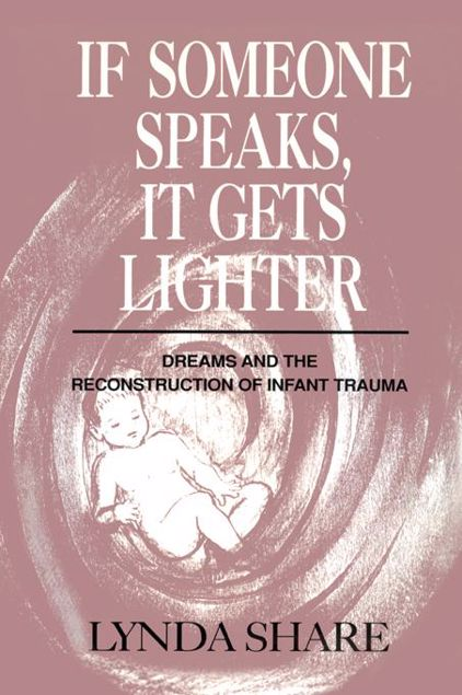 Picture of If Someone Speaks, It Gets Lighter: Dreams and the Reconstruction of Infant Trauma