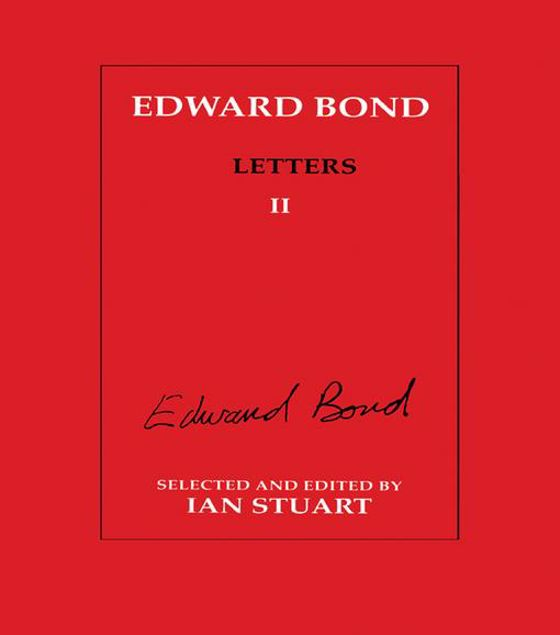 Picture of Edward Bond: Letters 2
