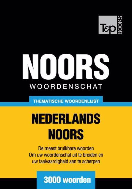 Picture of Thematische woordenschat Nederlands-Noors - 3000 woorden