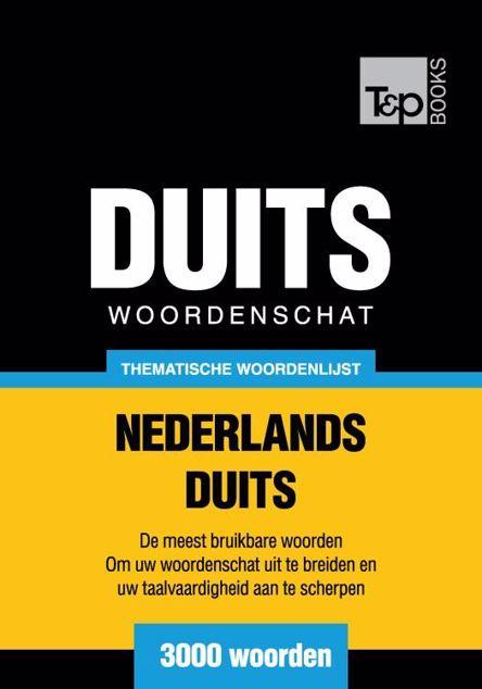 Picture of Thematische woordenschat Nederlands-Duits - 3000 woorden