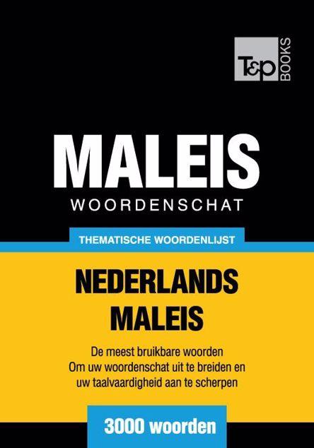 Picture of Thematische woordenschat Nederlands-Maleis - 3000 woorden