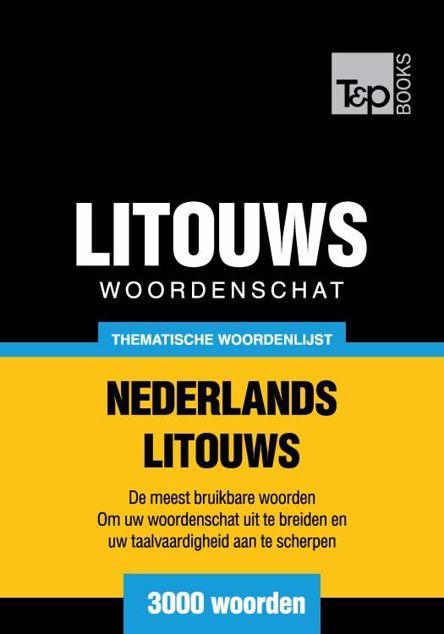 Picture of Thematische woordenschat Nederlands-Litouws - 3000 woorden