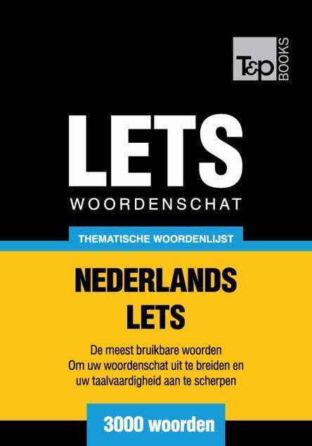 Picture of Thematische woordenschat Nederlands-Lets - 3000 woorden