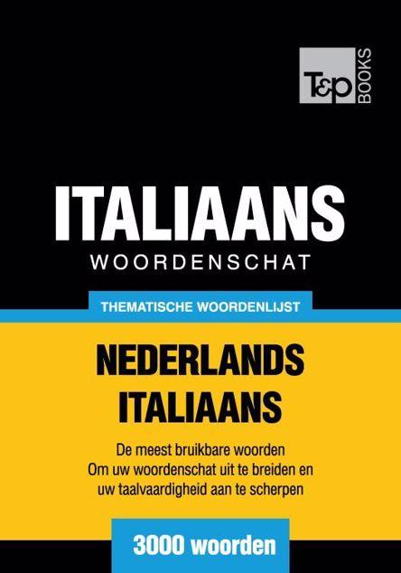 Picture of Thematische woordenschat Nederlands-Italiaans - 3000 woorden