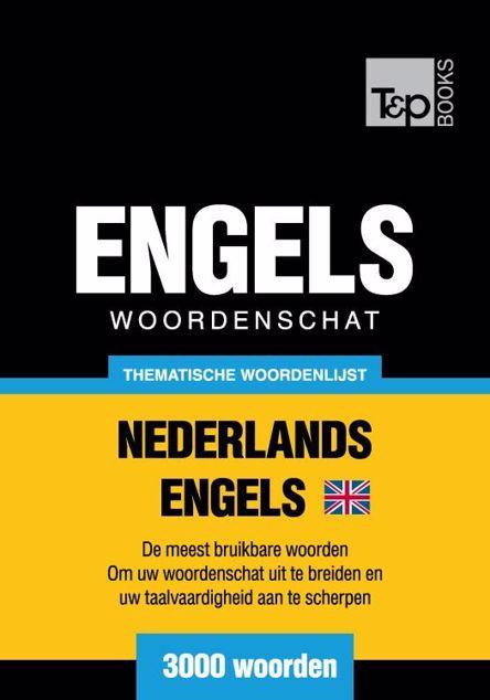 Picture of Thematische woordenschat Nederlands-Brits-Engels - 3000 woorden