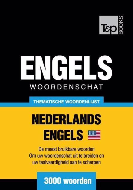 Picture of Thematische woordenschat Nederlands-Amerikaans-Engels - 3000 woorden