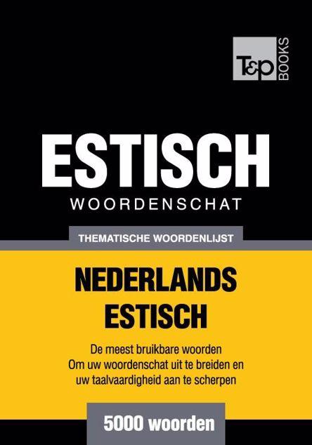 Picture of Thematische woordenschat Nederlands-Estisch - 5000 woorden