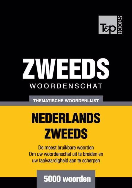 Picture of Thematische woordenschat Nederlands-Zweeds - 5000 woorden
