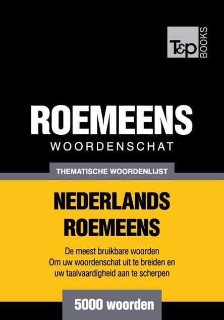 Picture of Thematische woordenschat Nederlands-Roemeens - 5000 woorden