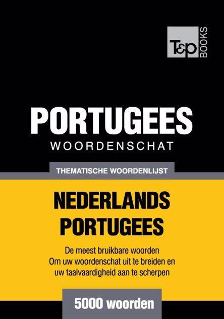 Picture of Thematische woordenschat Nederlands-Portugees - 5000 woorden
