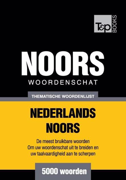 Picture of Thematische woordenschat Nederlands-Noors - 5000 woorden