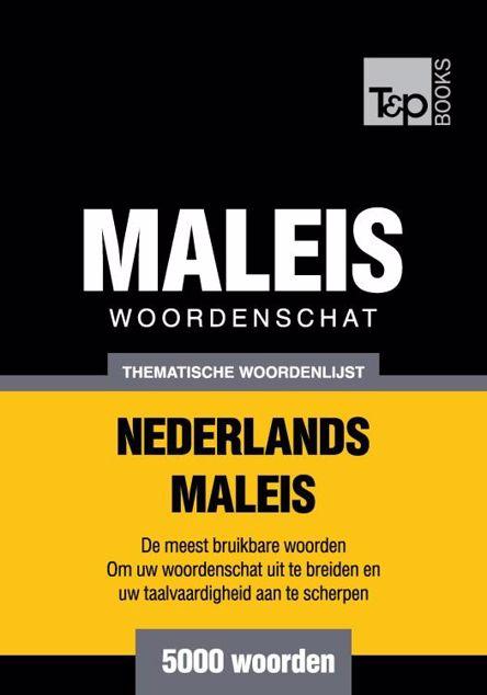 Picture of Thematische woordenschat Nederlands-Maleis - 5000 woorden