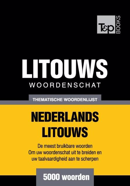 Picture of Thematische woordenschat Nederlands-Litouws - 5000 woorden