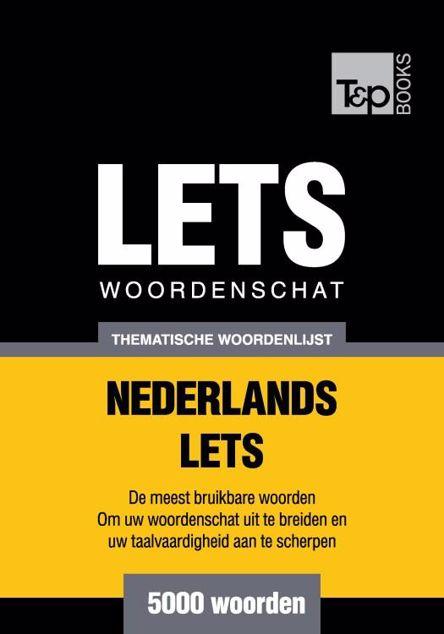 Picture of Thematische woordenschat Nederlands-Lets - 5000 woorden