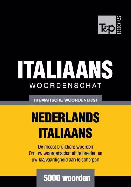 Picture of Thematische woordenschat Nederlands-Italiaans - 5000 woorden
