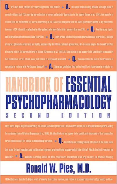 Picture of Handbook of Essential Psychopharmacology