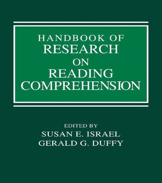 Picture of Handbook of Research on Reading Comprehension