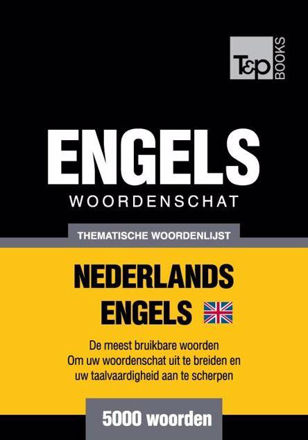 Picture of Thematische woordenschat Nederlands-Brits-Engels - 5000 woorden
