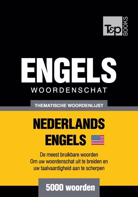 Picture of Thematische woordenschat Nederlands-Amerikaans-Engels - 5000 woorden
