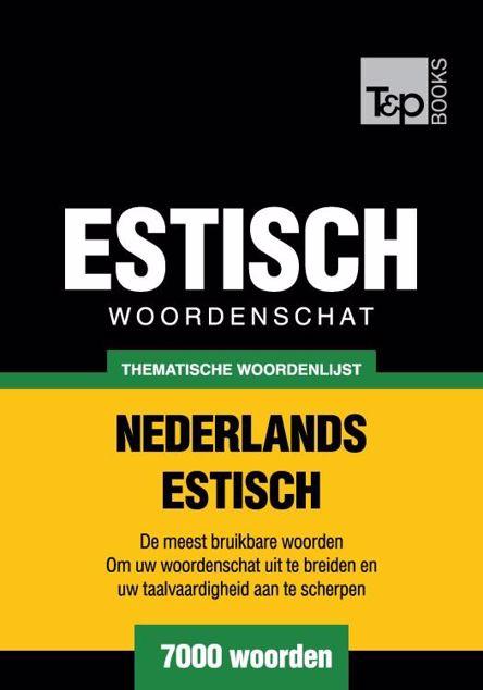 Picture of Thematische woordenschat Nederlands-Estisch - 7000 woorden