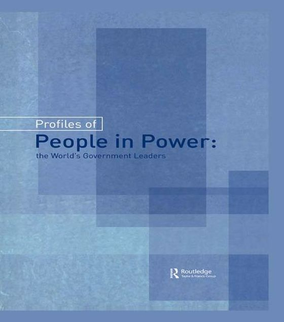 Picture of Profiles of People in Power: The World's Government Leaders