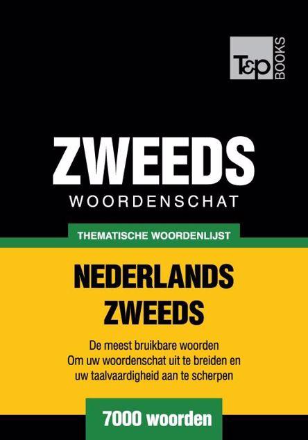 Picture of Thematische woordenschat Nederlands-Zweeds - 7000 woorden