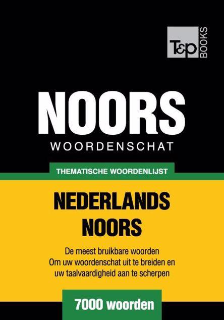 Picture of Thematische woordenschat Nederlands-Noors - 7000 woorden