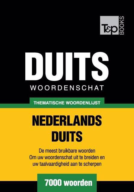 Picture of Thematische woordenschat Nederlands-Duits - 7000 woorden