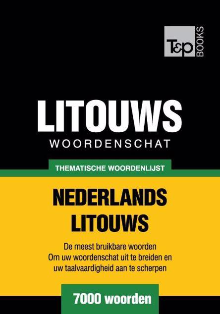 Picture of Thematische woordenschat Nederlands-Litouws - 7000 woorden