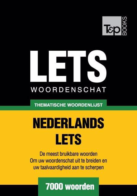 Picture of Thematische woordenschat Nederlands-Lets - 7000 woorden