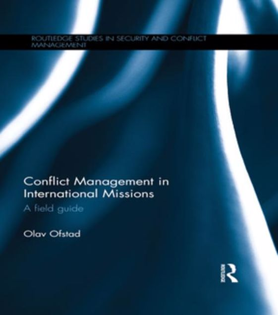 Picture of Conflict Management in International Missions: A field guide