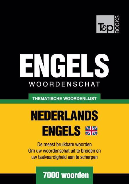 Picture of Thematische woordenschat Nederlands-Brits-Engels - 7000 woorden