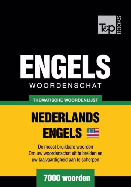 Picture of Thematische woordenschat Nederlands-Amerikaans-Engels - 7000 woorden