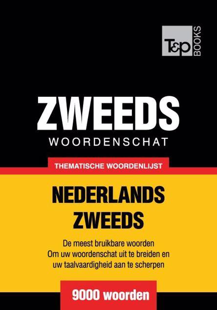 Picture of Thematische woordenschat Nederlands-Zweeds - 9000 woorden