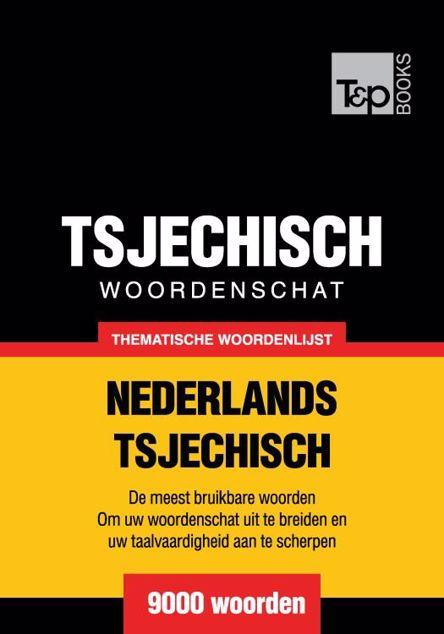 Picture of Thematische woordenschat Nederlands-Tsjechisch - 9000 woorden