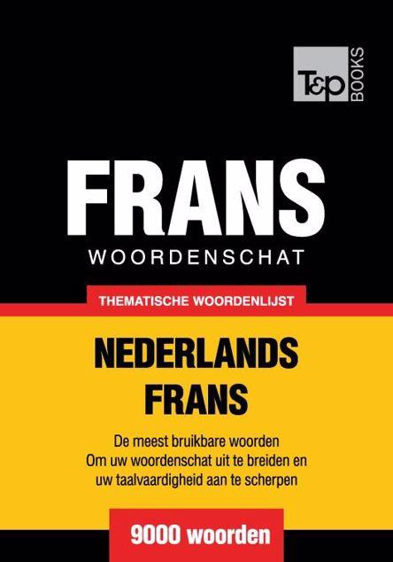 Picture of Thematische woordenschat Nederlands-Frans - 9000 woorden